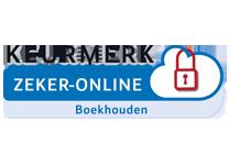 Keurmerk Zeker-OnLine voor veilig online boekhouden