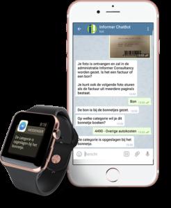smartphone met chatbot