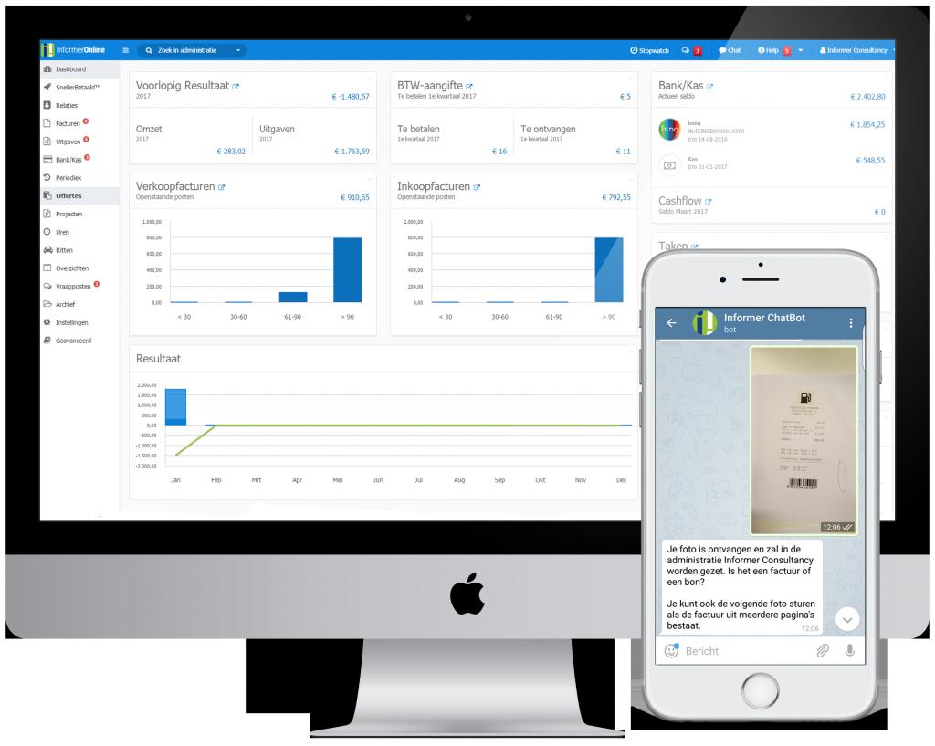 boekhoudprogramma met app