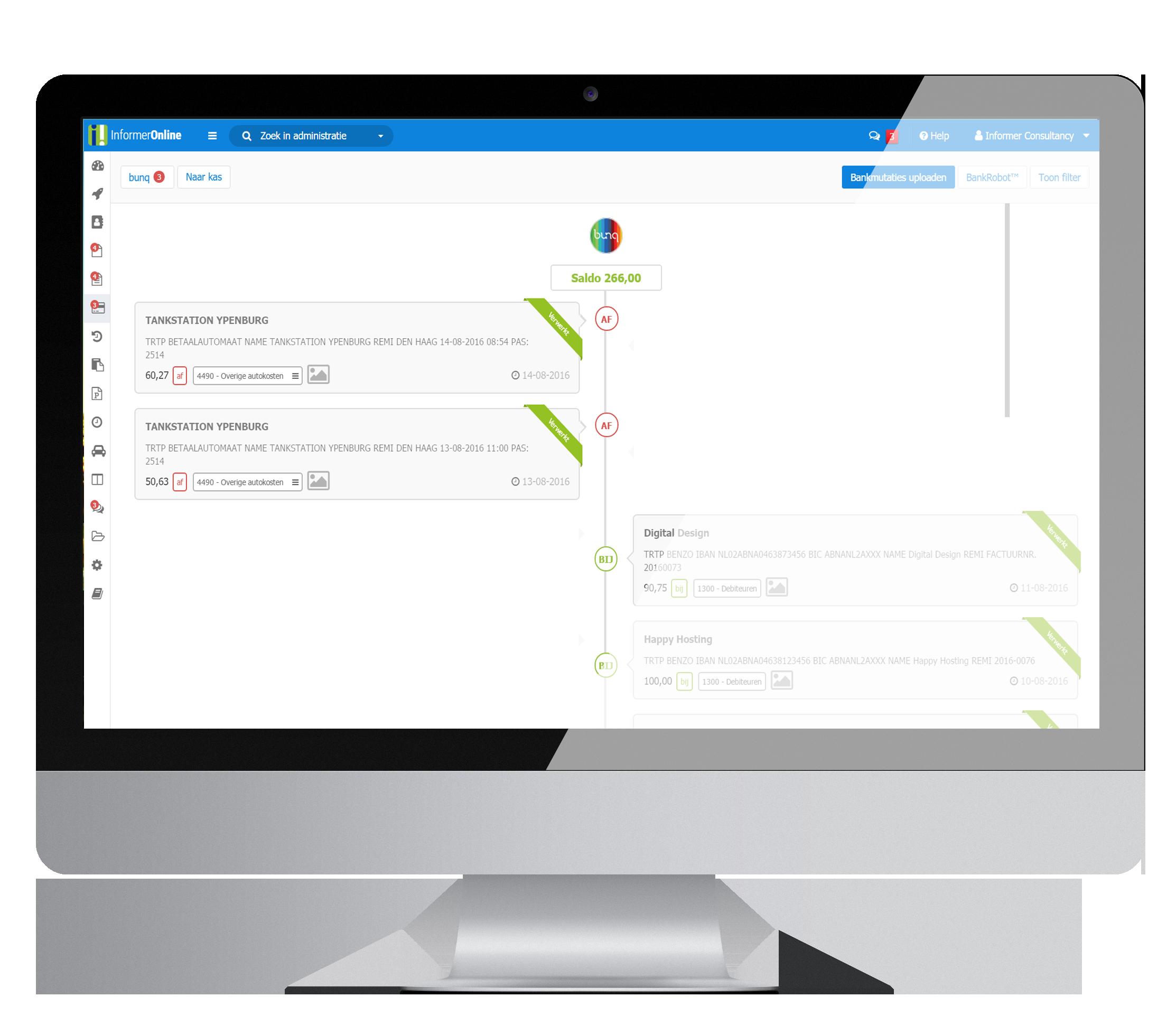 automatisch online betalingen verwerken