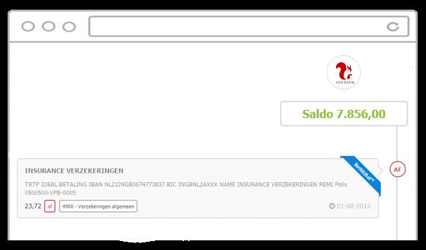 Transactie Afschrift ASN bank