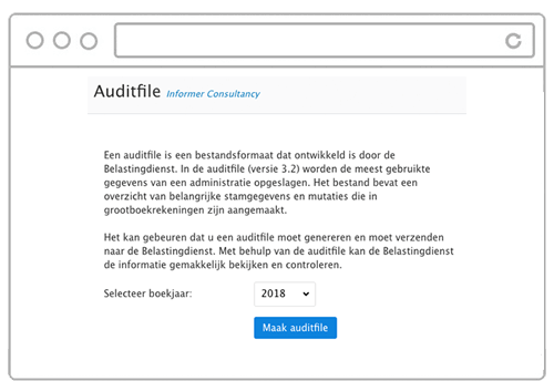 Auditfile downloaden