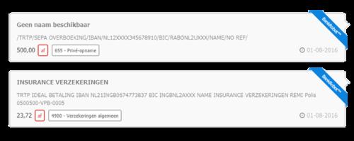 Bankrobot verwerkt KBC bank transacties