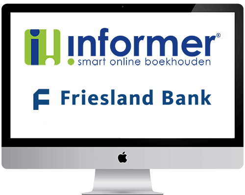 Friesland bank online in de boekhouding