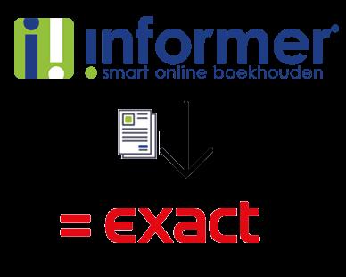 Importeer verkoopfacturen met de Koppeling tussen Informer en Exact