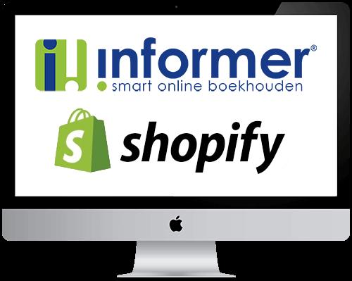 Koppeling InformerOnline en Shopify