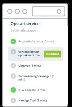 Opstartservice Informer