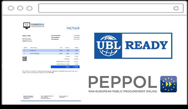 Papierloos Factureren met UBL en PEPPOL