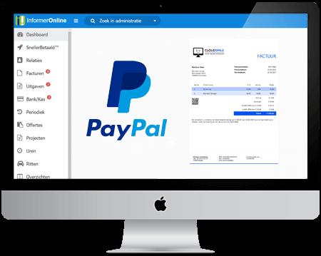 klanten laten betalen met paypal