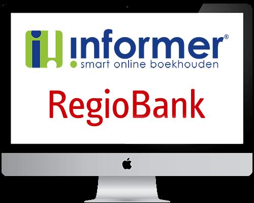 Regiobank boekhouden in InformerOnline