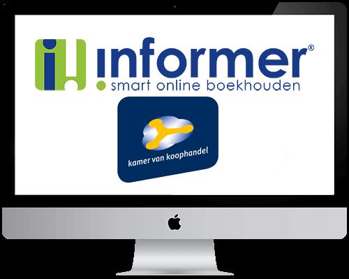 Start met InformerOnline na Kvk inschrijving