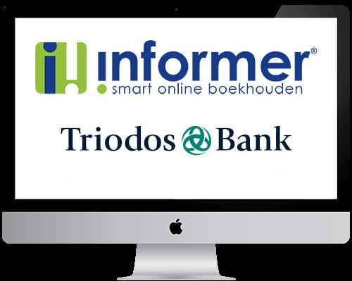 Triodos boekhouden in InformerOnline