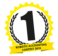 Winnaar Robotic Accounting Contest 2018
