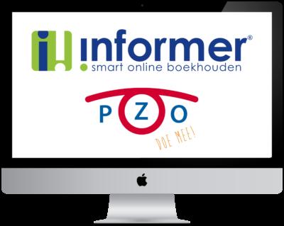 iMac logo Informer PZO