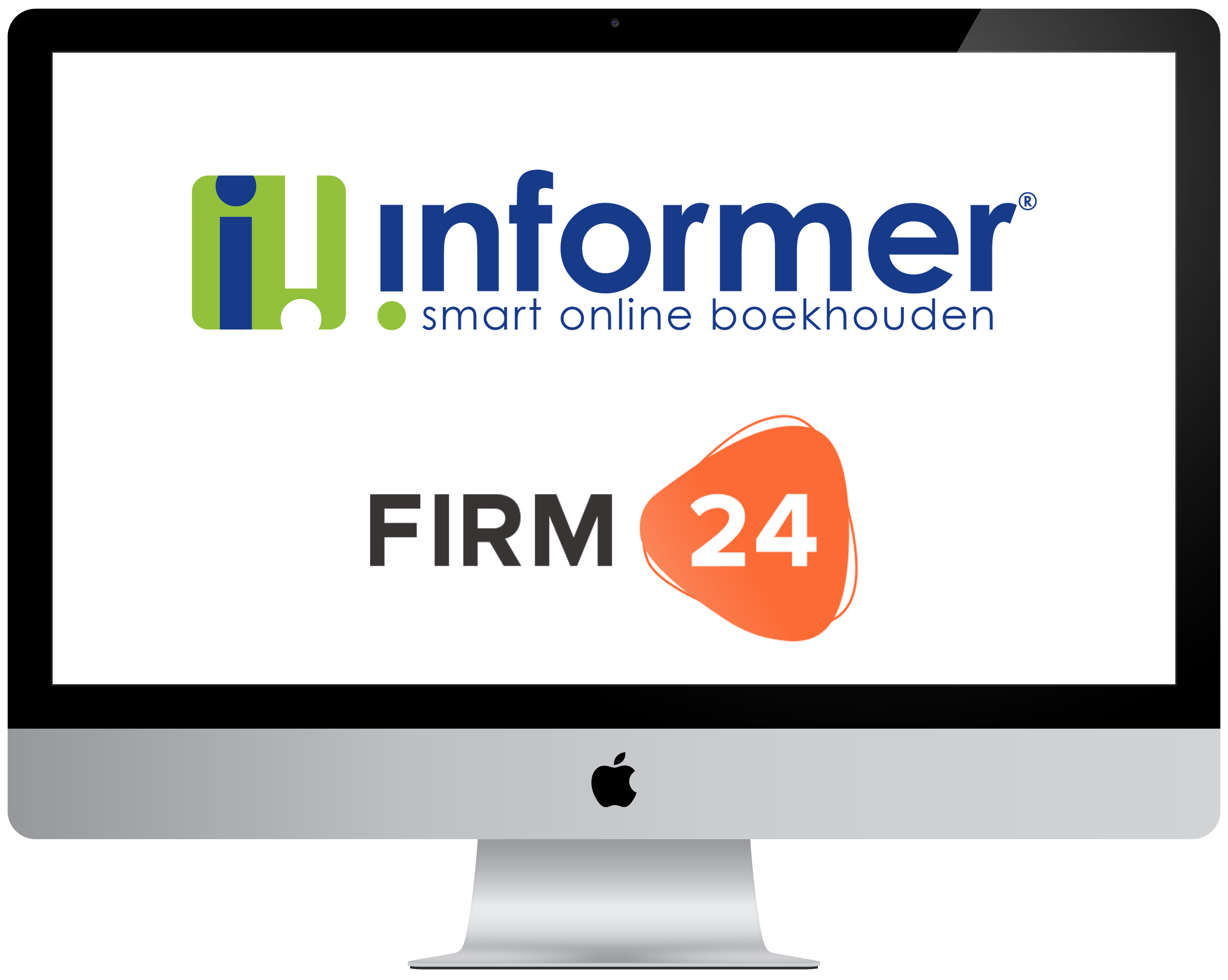 iMac logo Informer Firm24