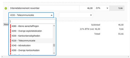 templates online factureren