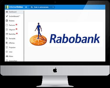 Rabobank in je boekhouding